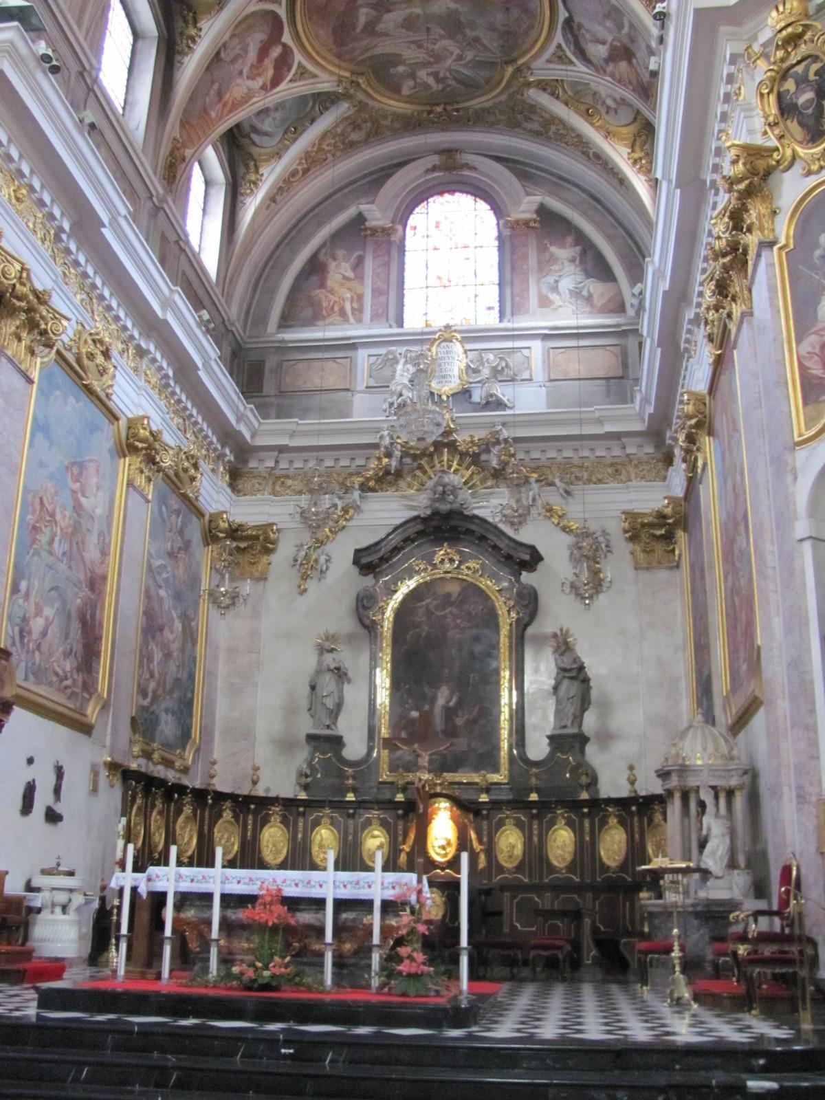 Interior of St Nicholas