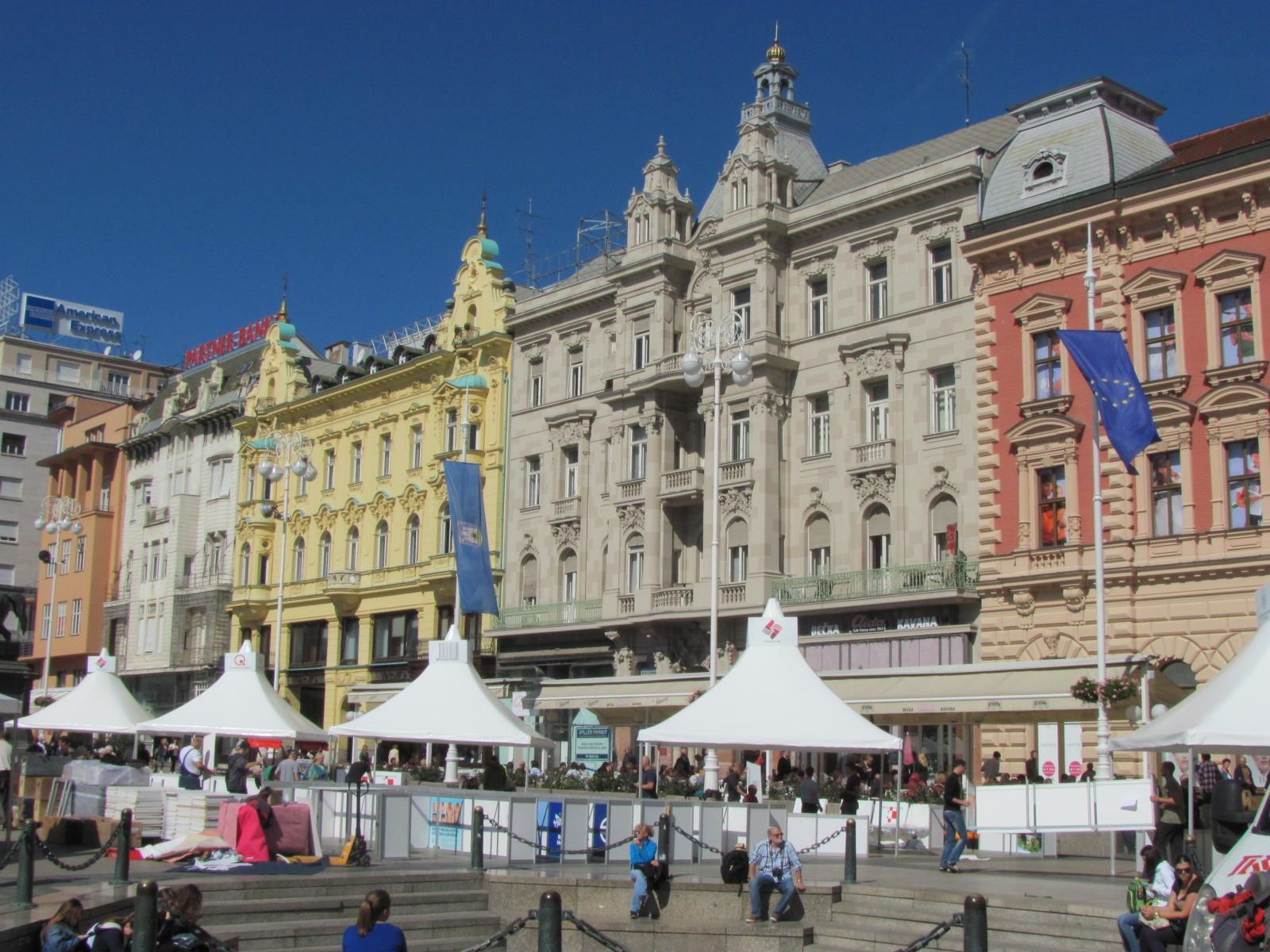 Zagreb's Main Square