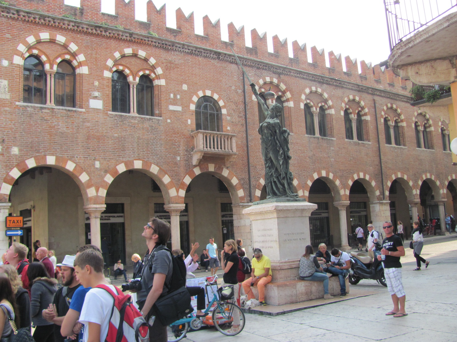 A Bank on Piazza Erbe