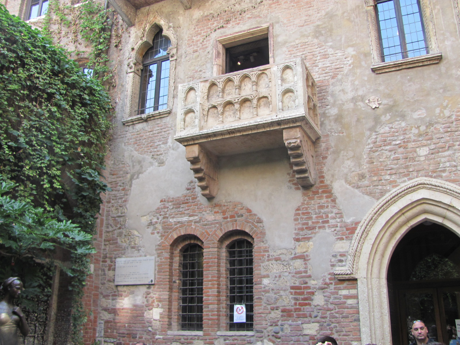 Famous Balcony