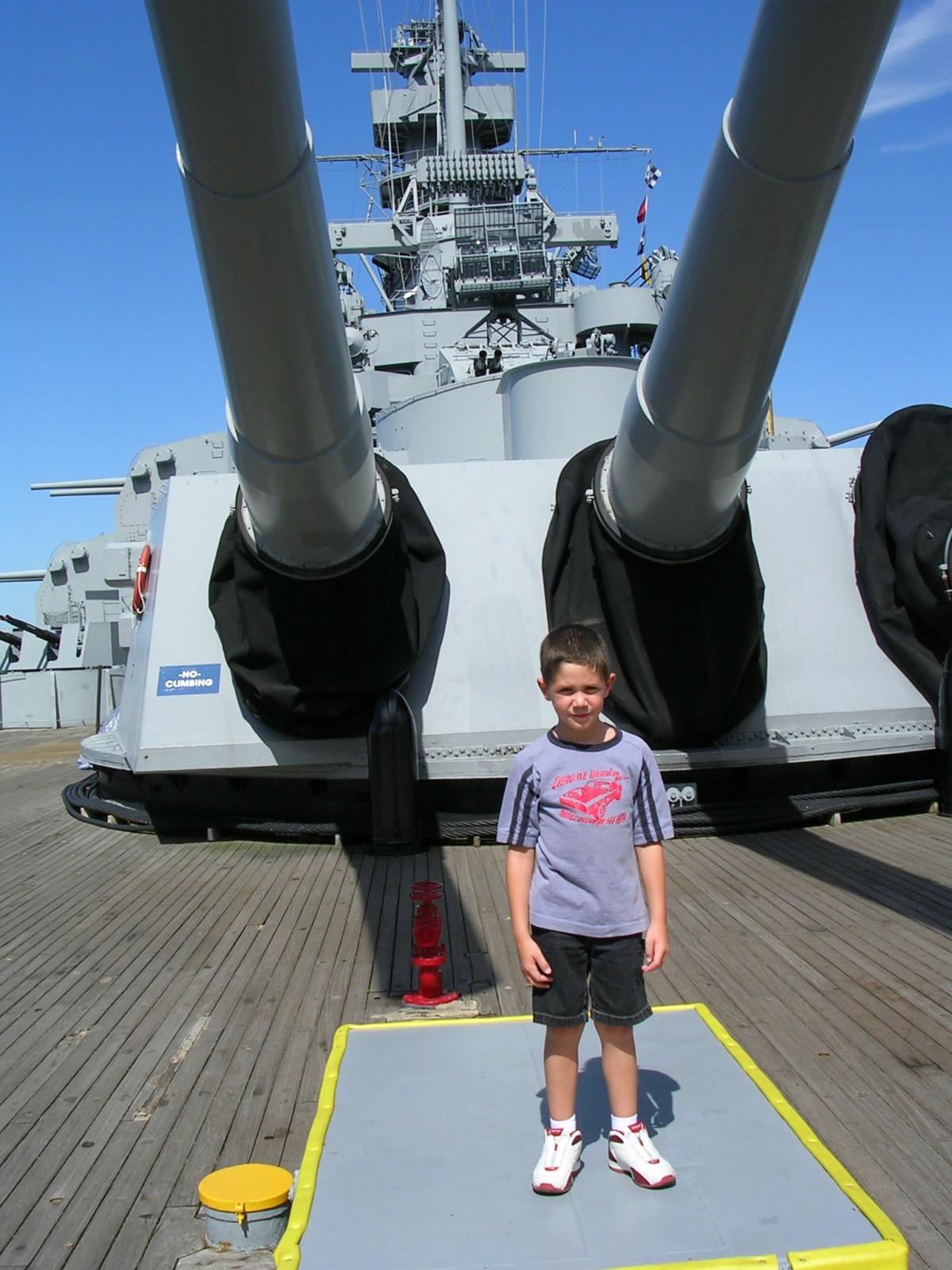 On the Battleship