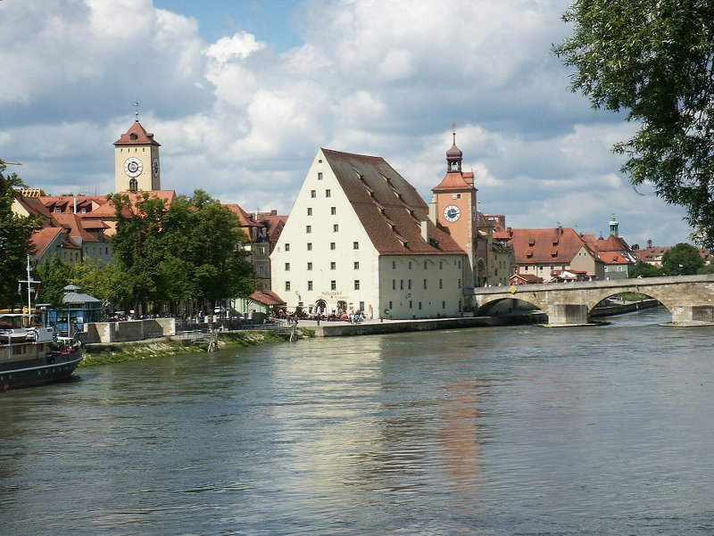 City Center on the Danube