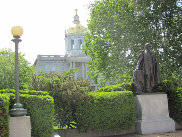 Franklin Pierce Statue