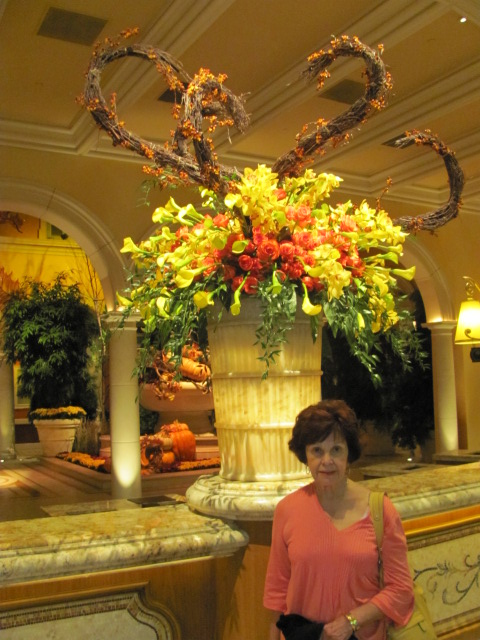 Lobby Display at Bellagio