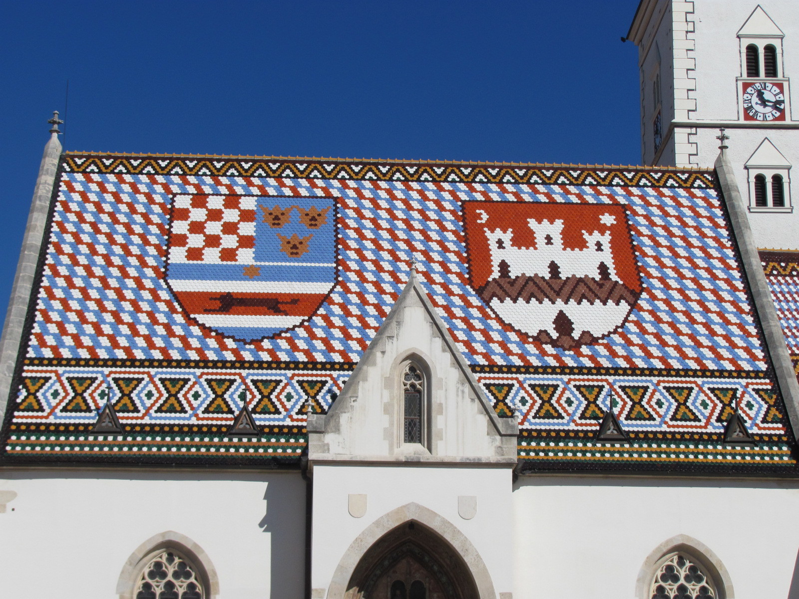 Roof of St Mark's Church