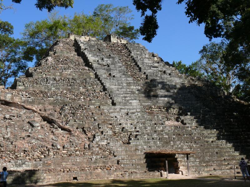 Temple at Copan