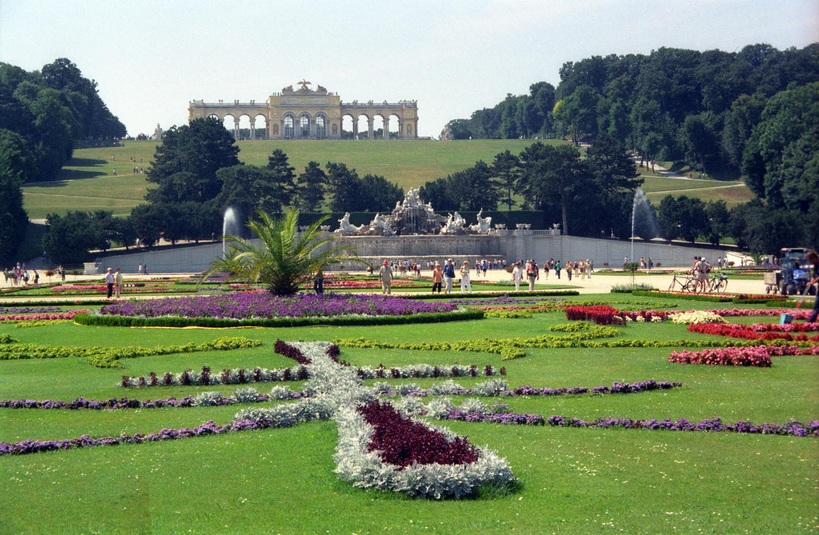 Gardens at Schonbrunn