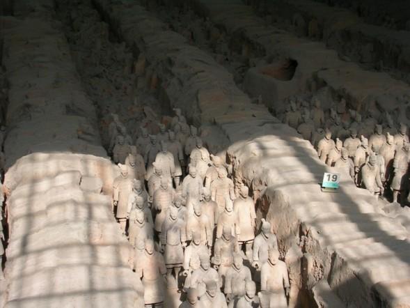 Rows of Infantrymen