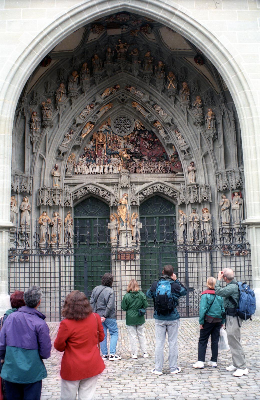 Portal of Berne Munster