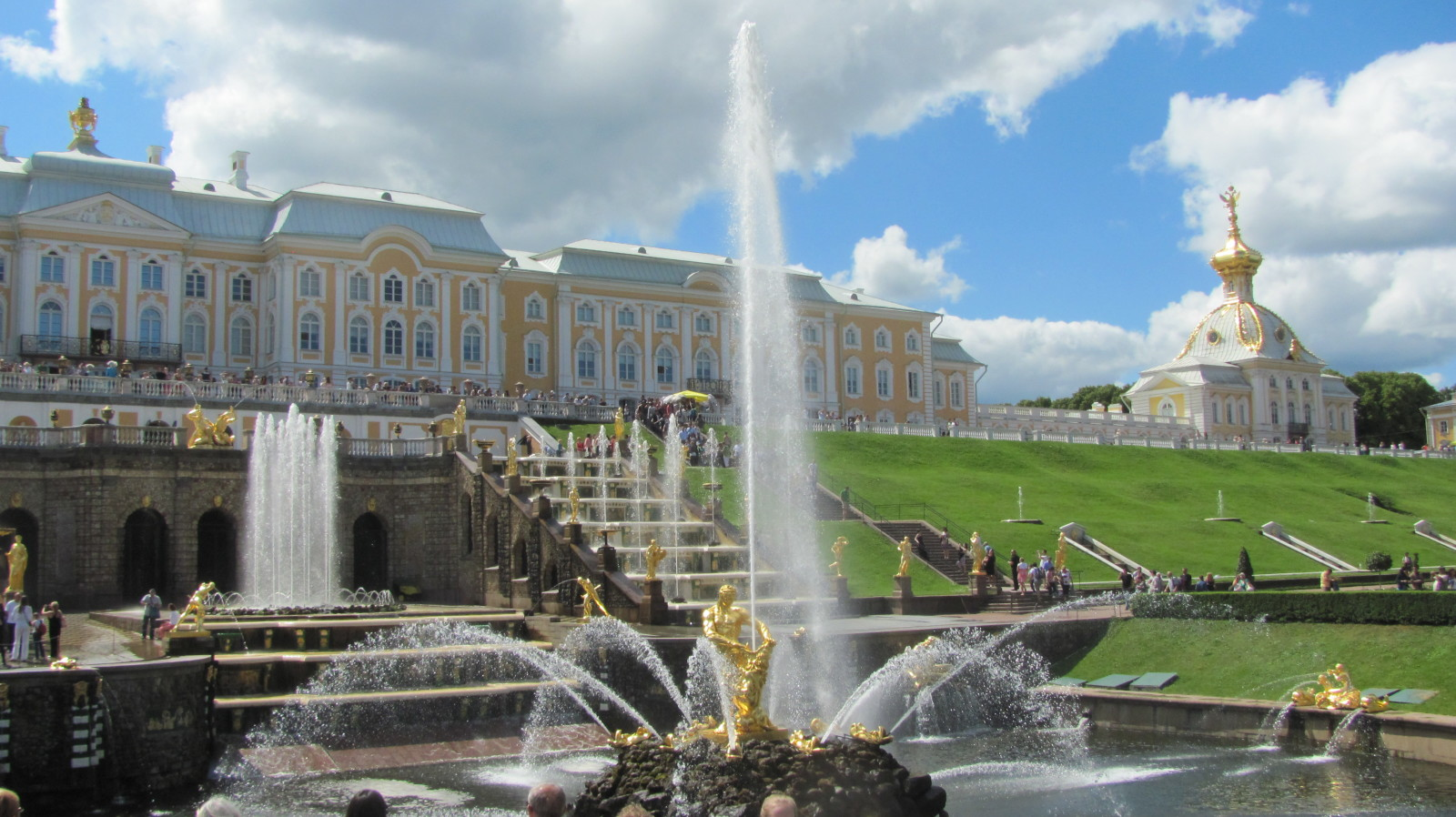 Samson Fountain at Peterhof