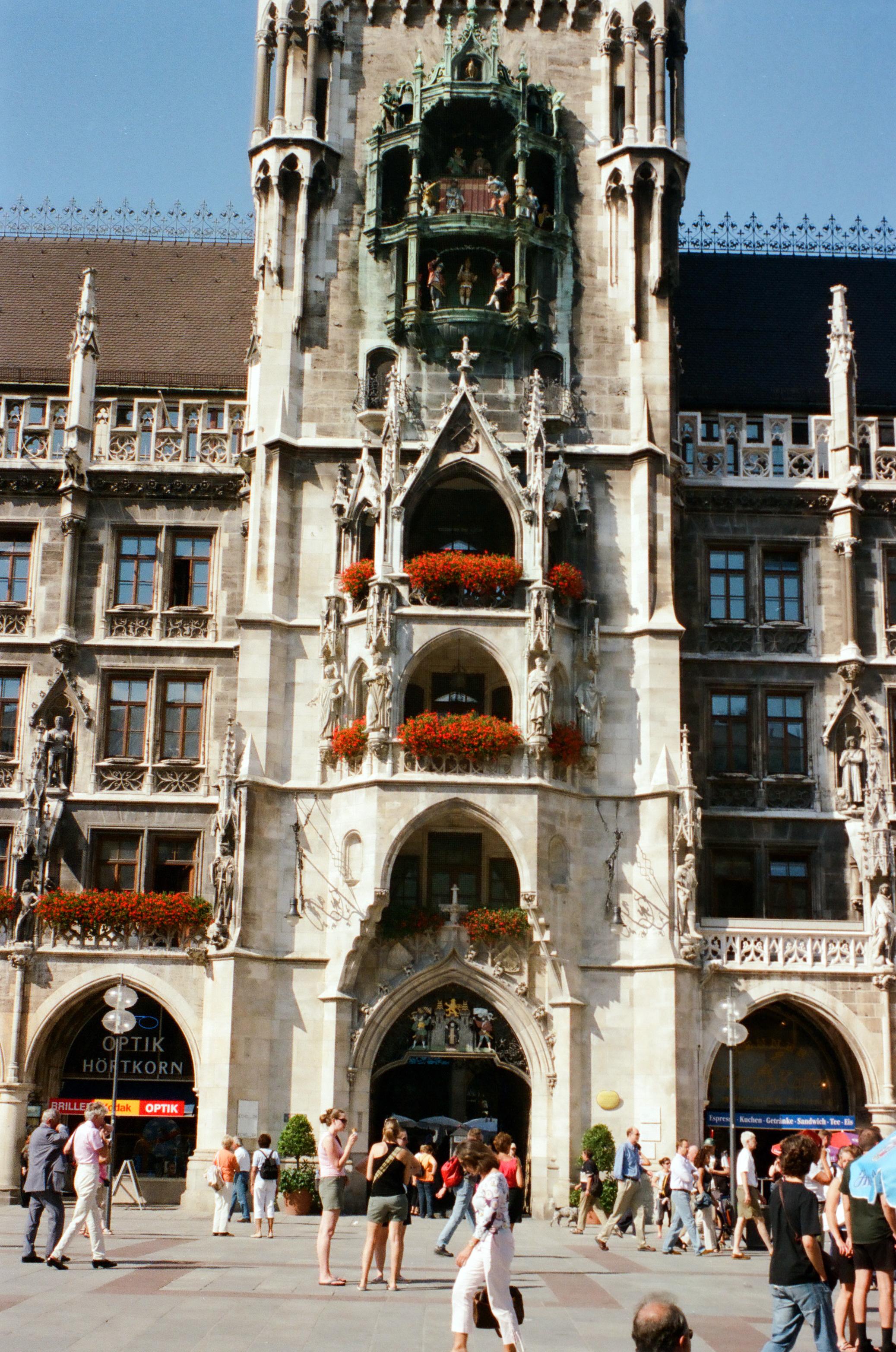 New City Hall, Munich