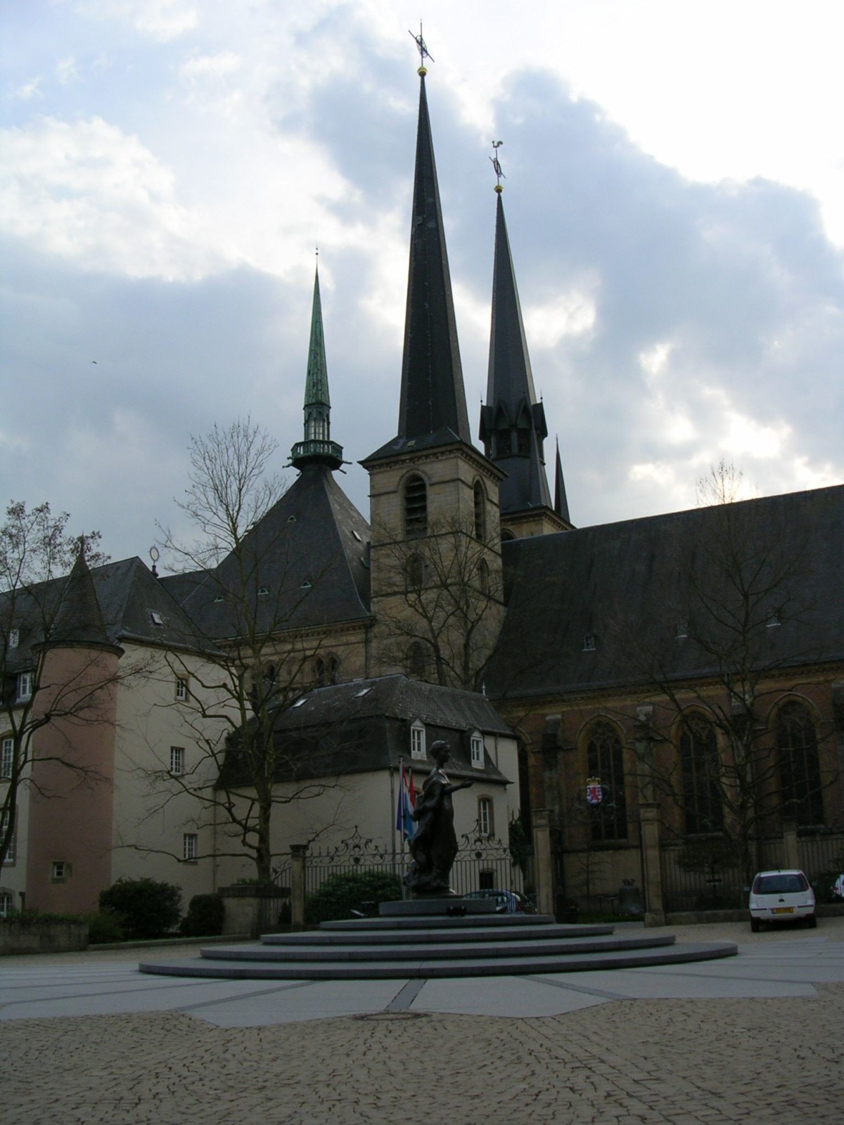 Notre Dame Cathedral, Luxembourg City
